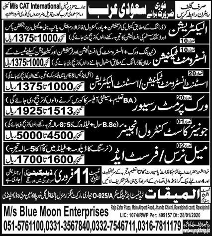 Nurses jobs in Saudi Arabia