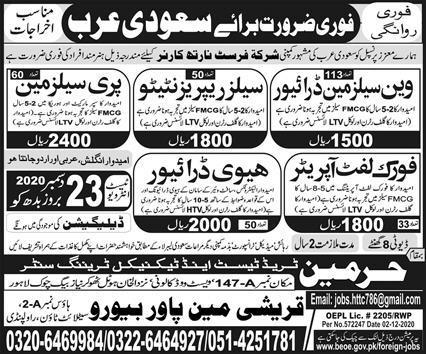 Sales jobs in Saudi Arabia