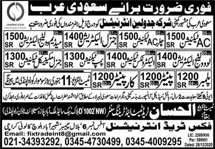 International company visa jobs