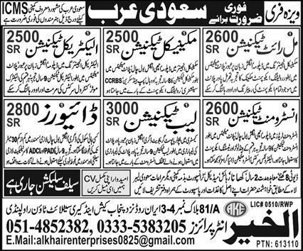 ICMS company Free work visa