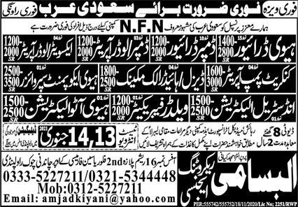 NFN company Visa jobs
