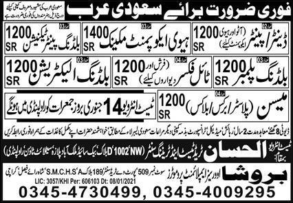 Saudi Arabia construction company jobs
