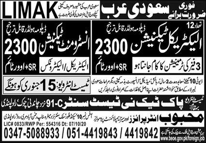 Limak company jobs