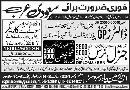 Golden Market work Visa jobs