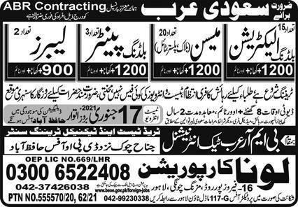 ABR Company Visa Jobs