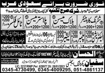 Latest Visa jobs in multi national company