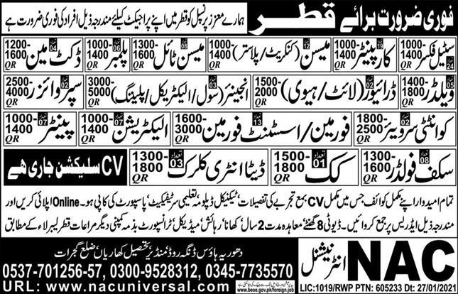 Best Company Free visa jobs