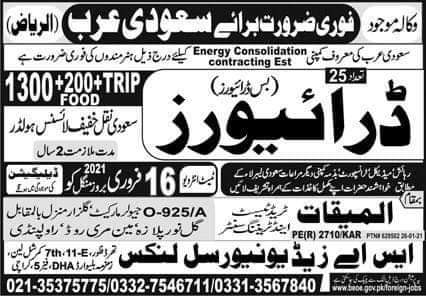 Latest Work visa jobs in Energy Company