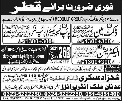 Midgulf Company Job in Qatar 2021