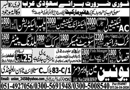 Hypermarkets jobs in Saudi Arabia