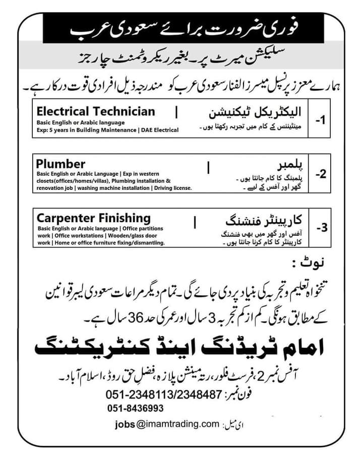Latest Jobs in Alfanar  Saudi Arabia 2021