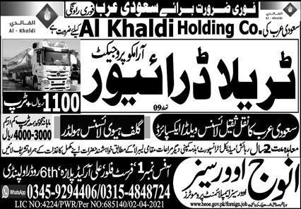 Saudi Arabia Aramco free visa jobs