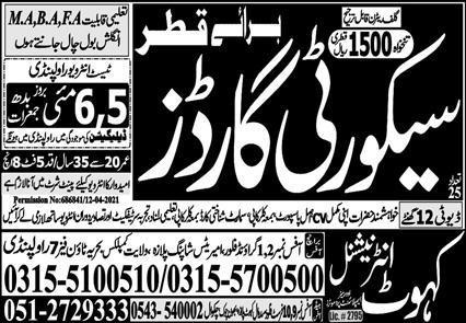Latest Free visa Jobs Opportunities in Qatar