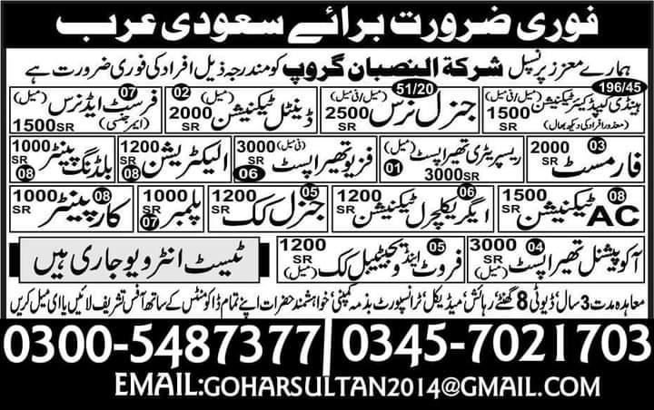 Latest 400 jobs in Saudi Arabia