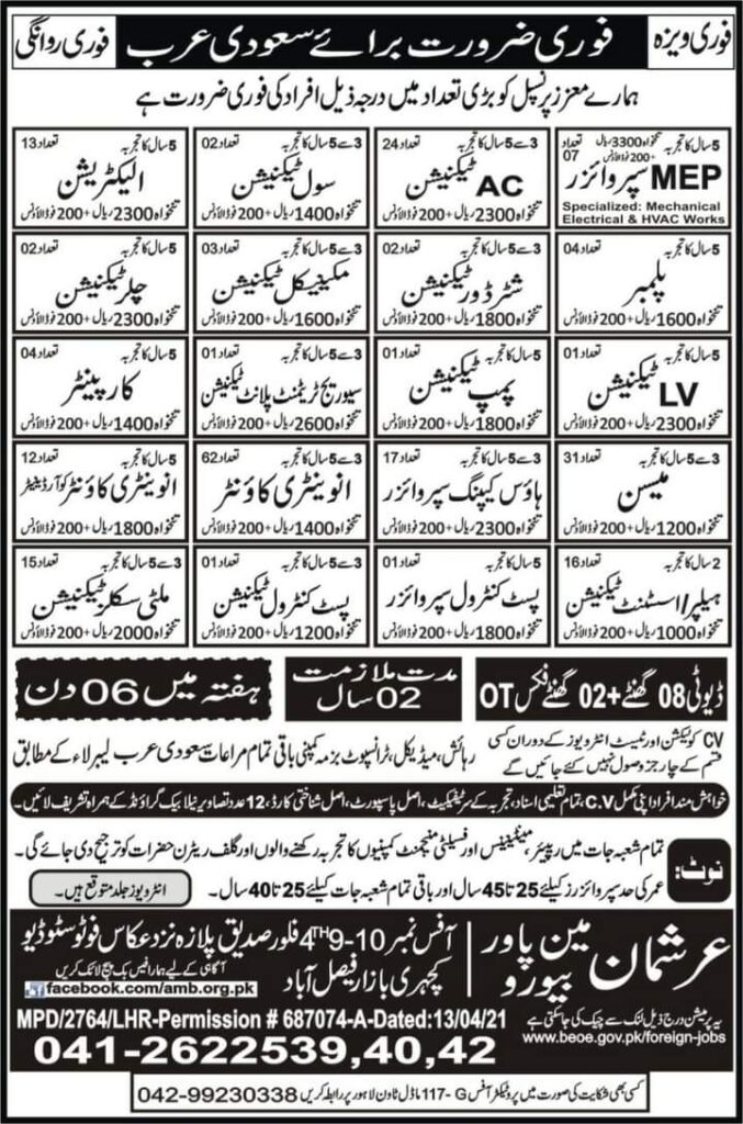 Latest Jobs in Saudi Arabia Riyadh