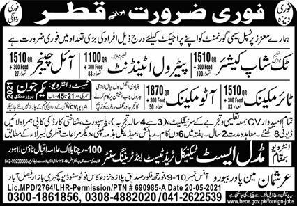 Jobs in Qatar Government Department