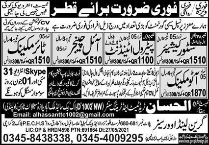 Qatar free visa free tickets jobs 2021
