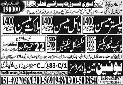 Qatar Petroleum job Vacancy 2021